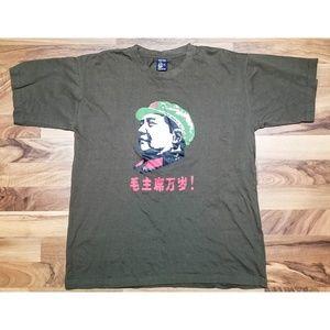 Vintage Hong Kong T Shirt. AMAZING Graphics! Wow!